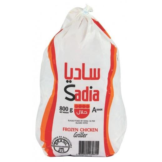 ساديا - دجاج مجمد بدون أحشاء 800 جم