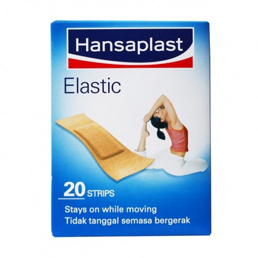 Hansaplast Elastic Bandages Assorted 20 Strips