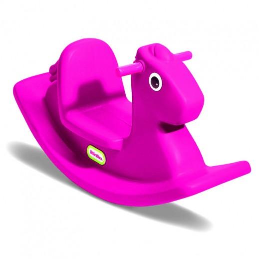 ليتل تايكس – لعبة الحصان الهزاز – وردي
