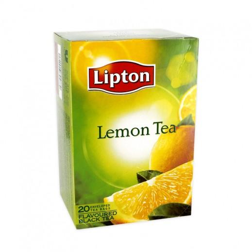ليبتون - شاي بالليمون 20 كيس