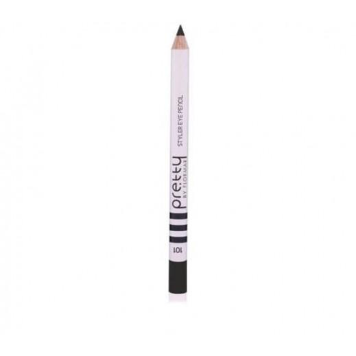 بريتي باي فلورمار - قلم تحديد العيون ستايلر 101 أسود