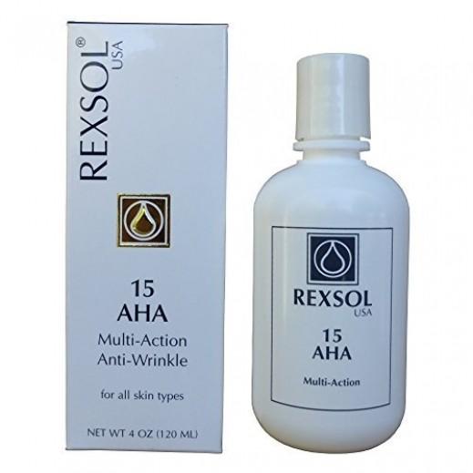 ريكسول - كريم مع خاصية AHA 15 لمقاومة التجاعيد وتقدم العمر  120 مل