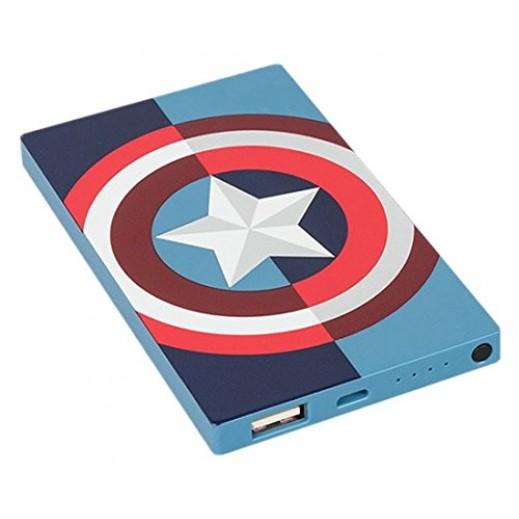 ترايب – بطارية إحتياطية Captain America بقوة 4,000 مل أمبير