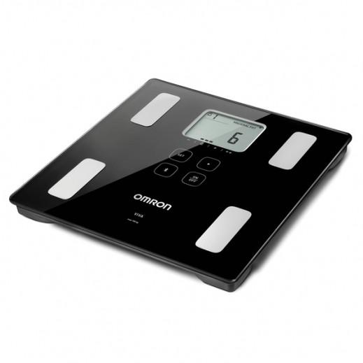 أومرون – جهاز تحليل نسبة الدهون في الجسم وقياس الوزن HBF-222T-EBK