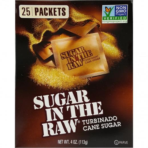 شوجر إن ذا رو - سكر خام طبيعي خالي من الجلوتين 25 كيس