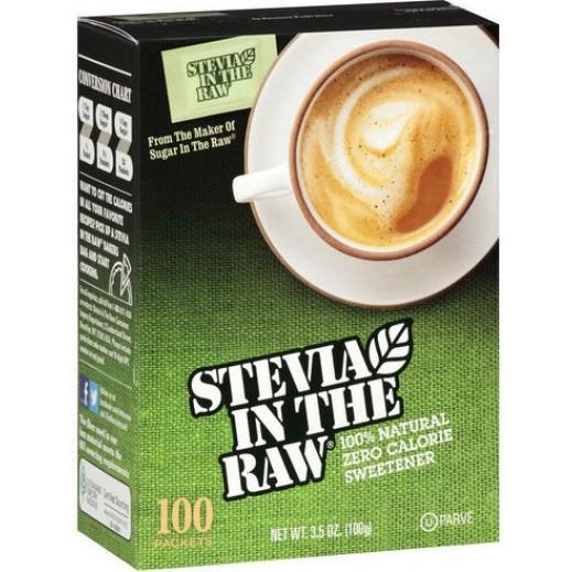 إن ذا رو - سكر ستيفيا خالي من الجلوتين 100 كيس