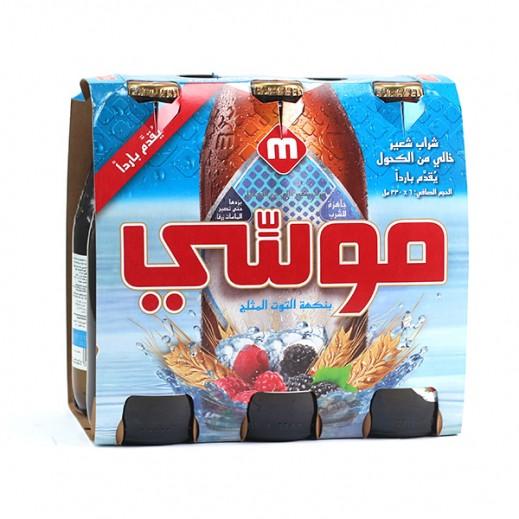 موسي – مشروب الشعير بنكهة التوت 330 مل (6 حبة)