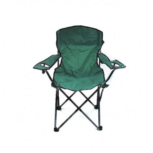 كرسي التخييم القابل للطي - أخضر