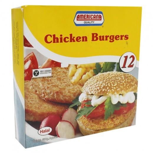 أمريكانا – برجر الدجاج 12 قطعة 680 جم