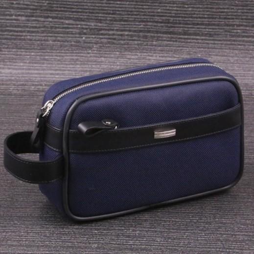 فالنتينو أورلاندي  – حقيبة يد للرجال 604 - أزرق  داكن  - يتم التوصيل بواسطة My Fair Lady