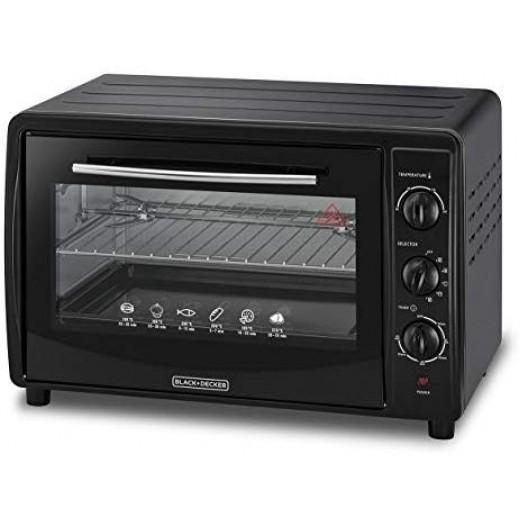 Black & Decker Oven 45 L 1800 W - Black