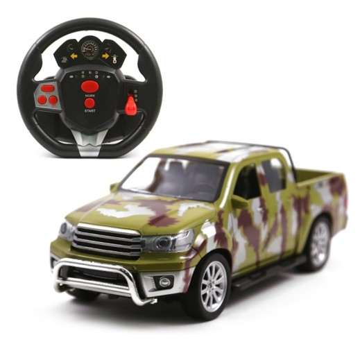 Desert king Charging Rc Army Pick Up Car