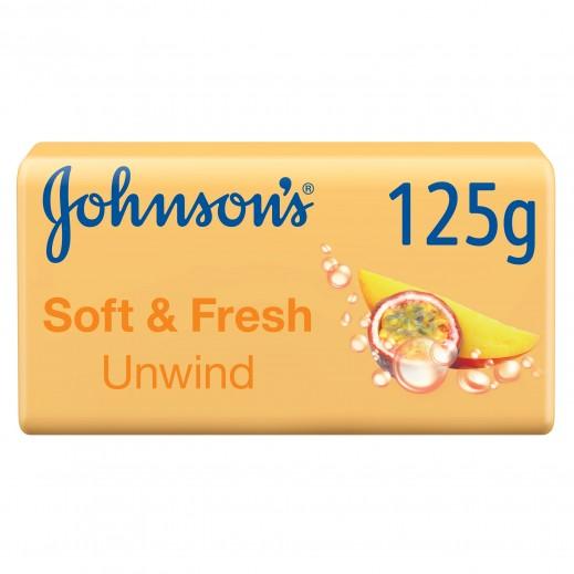 اشتري جونسون - صابون استحمام سوفت & فريش استرخاء 125 جم ...