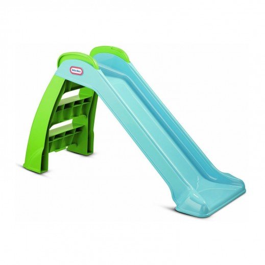 ليتل تايكس – زحلاقية للأطفال – أزرق وأخضر