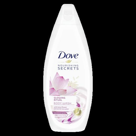 دوف - غسول الجسم بخلاصة زهرة اللوتس وحليب الأزر 500 مل