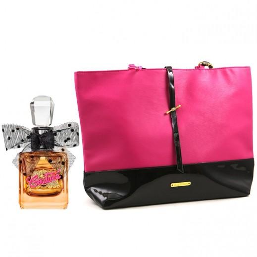 جوسي كوتور – عطر فيفا لا جوسي جولد كوتور EDP للسيدات 100 مل  + حقيبة هدية