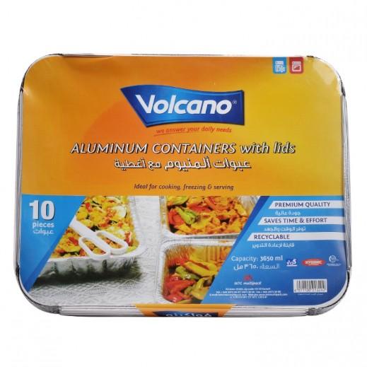 فولكينو - عبوات ألومنيوم مع أغطية 3650 مل - 10 حبة