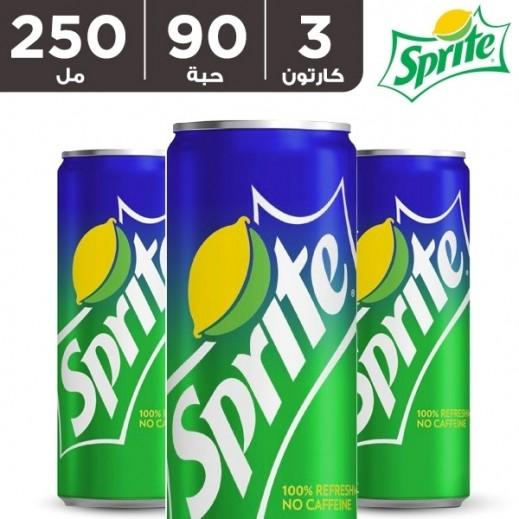 سبرايت – مشروب غازي 250 مل ( 3 كرتون × 30 حبة ) – أسعار الجملة