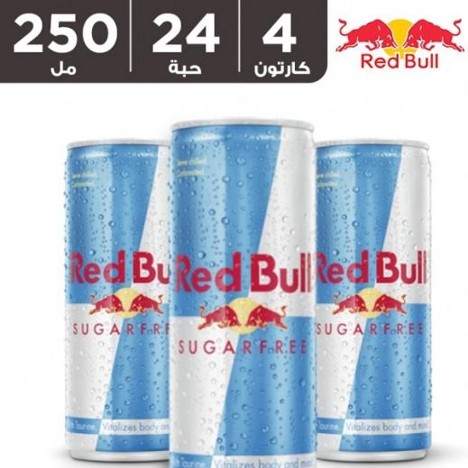 ريد بُل – مشروب الطاقة خالي من السكر 250 مل ( 4 كرتون × 6 حبة ) - أسعار الجملة