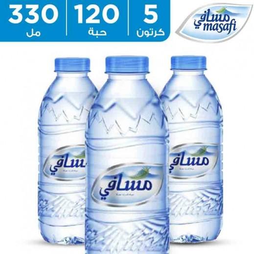مسافي – مياه معدنية  330 مل (5 × 24) - أسعار الجملة