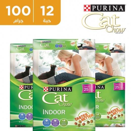 """بورينا – طعام القطط الجاف """"كات شو"""" 12 ×  510 جم"""