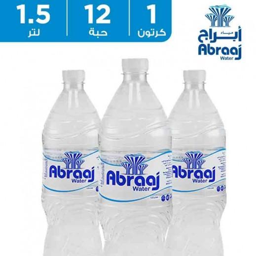 أبراج - مياه شرب نقية - 12 × 1.5 لتر