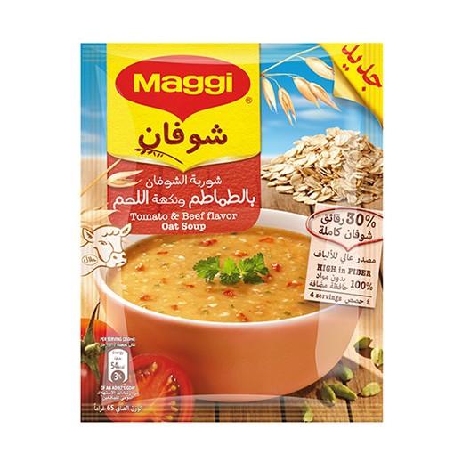 ماجي - شوربة الشوفان بالطماطم و نكهة اللحم 65 جم