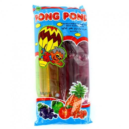 بونغ بونغ - مشروب بطعم الفاكهة 70 جم - عبوة 10 حبة