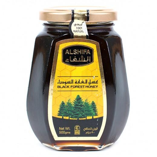 الشفاء – عسل الغابة السوداء 500 جم