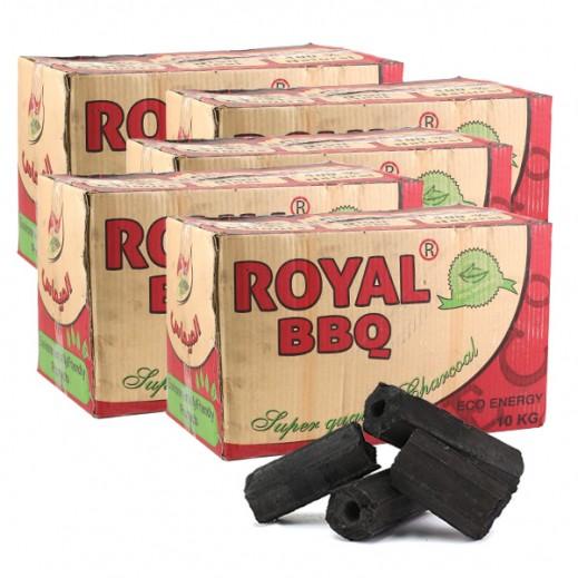 رويال - فحم سريع الاشتعال 5 حبة × 10 كجم – أسعار الجملة