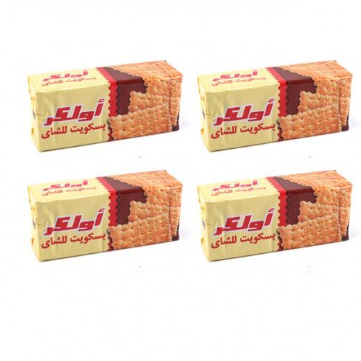أولكر - بسكويت الشاي 165 جرام (4 حبة)