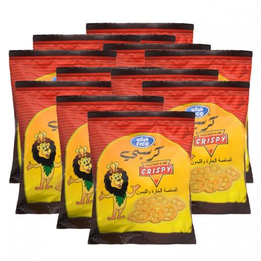 فيكو – كرسبي بالصلصة الحارة والليمون 15 جرام × 20 حبة - عرض التوفير