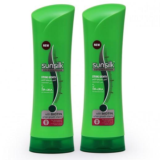 صانسيلك – بلسم لتعزيز نمو وقوة الشعر 2 حبة × 350 مل