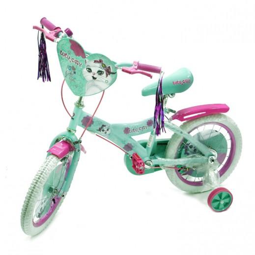 دراجة لولو كاتي - لون فيروزي - يتم التوصيل بواسطة Click Toys