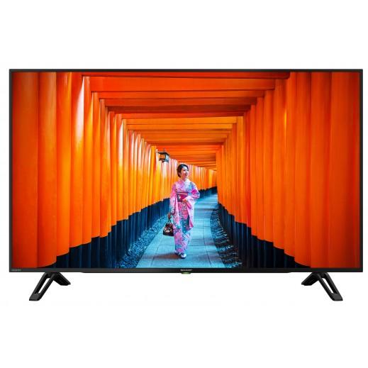 شارب - تلفزيون ذكي 4K 60 بوصة LED UHD - يتم التوصيل بواسطة  AL-YOUSIFI  بعد 3 ايام عمل
