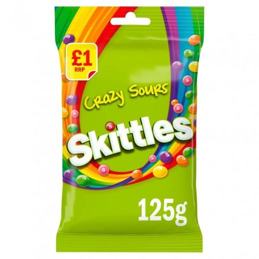 سكيتلز - حلوى كريزي سورز 125 جم