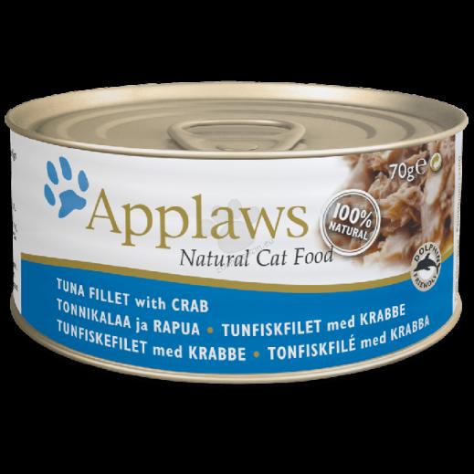 أبلوز – طعام القطط مع التونة والكابوريا 70 جم