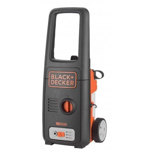 بلاك أند ديكر – ماكينة التنظيف بضغط الماء 1400 واط بقوة ضغط 110 بار – برتقالي
