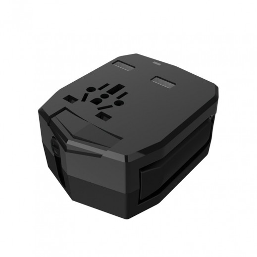 Armour Travel Adapter 2.5A USB Output Black