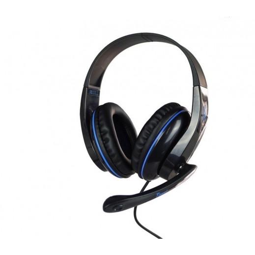 سادس - Tpower سماعة رأس لألعاب الفيديو - اسود