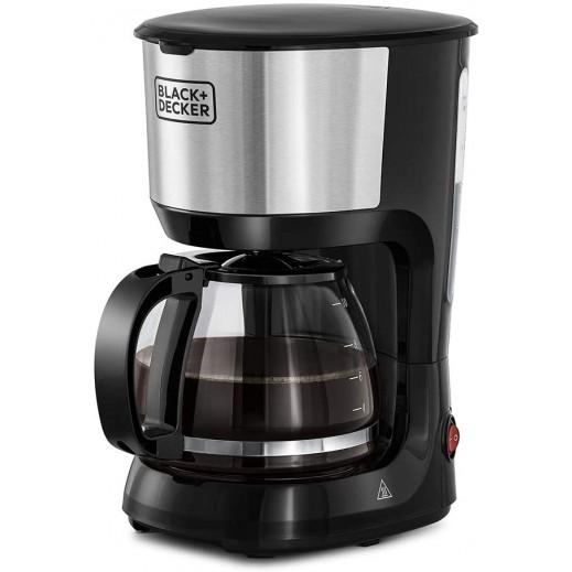 بلاك أند ديكر – 750 واط صانعة القهوة 10 أكواب – أسود