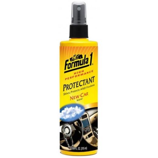 فورمولا 1 بخاخ حامي - رائحة عطر السيارة الجديد 4 قونصة