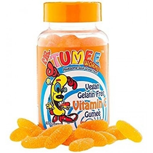 مستر تومي - حبوب الجيلاتين بفيتامين سي البرتقالي (60 حبة)