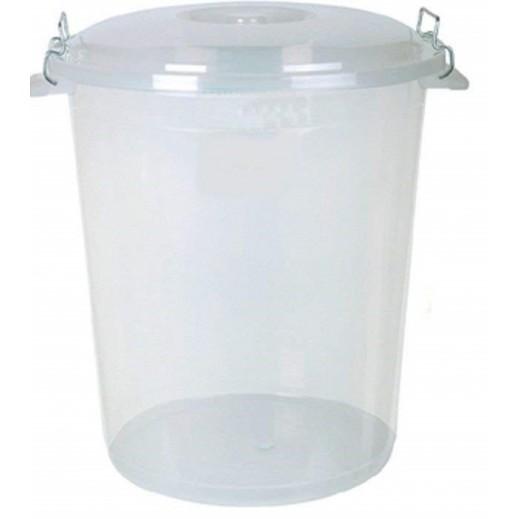 سلة تخزين بلاستيك بمتعددة الأغراض 30 لتر