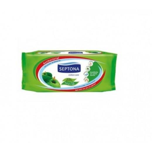 سيبتونا – مناديل مبللة برائحة بالتفاح الأخضر 60 منديل