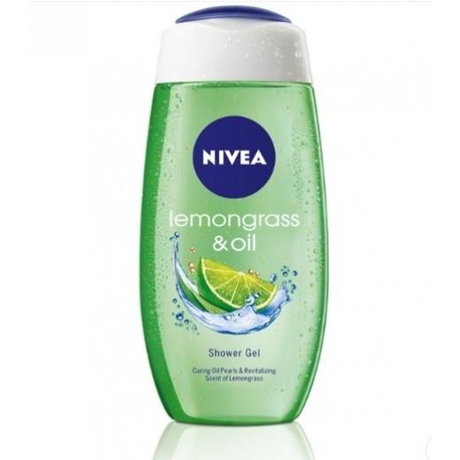 نيفيا - جل الإستحمام بحبيبات الزيت وعشبة الليمون 500 مل
