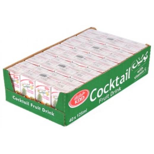 كى دى دى - عصير الكوكتيل 125 مل ( 40 حبة )