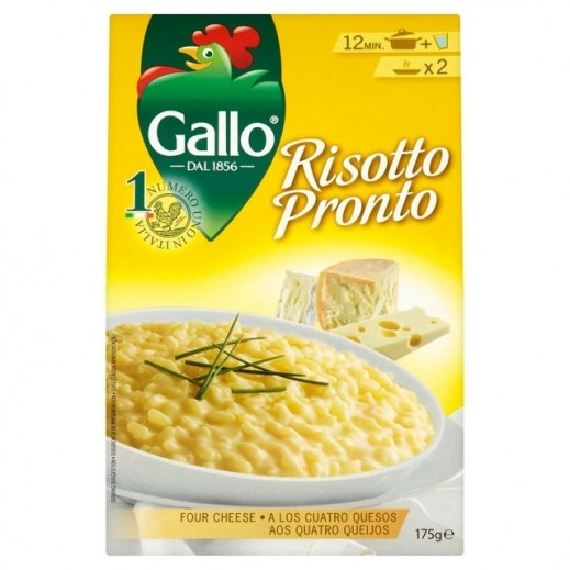 ريزو غالو – أرز إيطالي مع 4 أنواع جبن210  جم