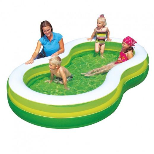 بست واي – حمام سباحة  274 × 157 × 46 سم - أخضر