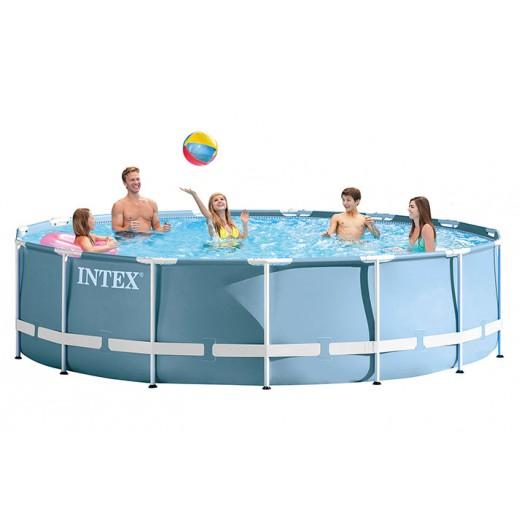 إنتكس – حمام سباحة دائرى 84×457 سم - يتم التوصيل بواسطة سفاري هاوس خلال 2 أيام عمل
